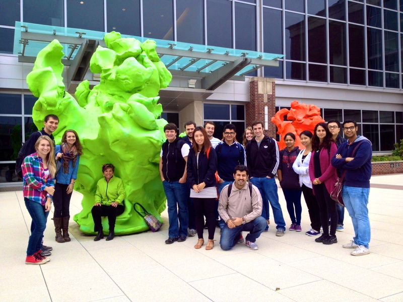 KA WITH ARCH 423 STUDENTS ON UNIV ILLINOIS CAMPUS.9.11.2014jpg.jpg