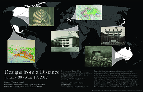 Designs from a Distance Exhibition Poster