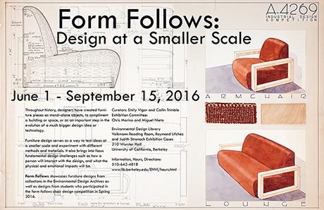 Form Follows Exhibition Poster
