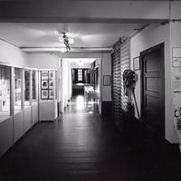 Decorative Art Building hallway gallery<br />