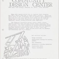 Elmhurst Community Design Center Announcement