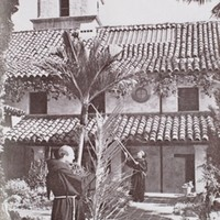 A Pictorial History of the Physical Development of Mission Santa Barbara, From Brush Hut to Institutional Greatness, 1786-1963