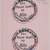 Peace Garden Ornament