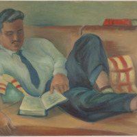 Painting of Brian Heath