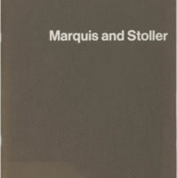 Marquis and Stoller Architect's brochure