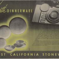 Heath dinnerware brochure