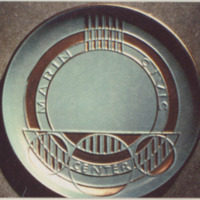 Frank Lloyd Wright commemorative plate