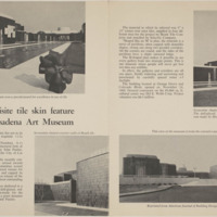 'Exquisite Tile Skin Feature of Pasadena Art Museum', American Journal of Building Design article