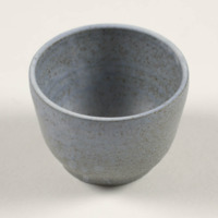 Hand-thrown cup for Gump&#039;s<br />