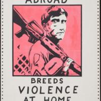 Violence Abroad Breeds Violence at Home