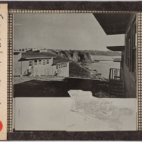Professional Papers 1922-1963, Research Material: Postcards and Small Photos, Housing-related: War Housing, various