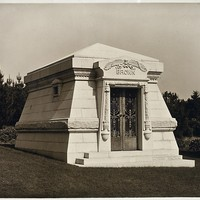 Morris Brown Mausoleum, Home of Peace Cemetery