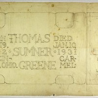 Thomas Sumner Greene Tombstone