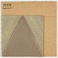 Raised triangle tIle sample