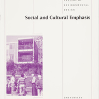 Social and Cultural Emphasis brochure
