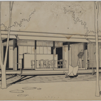 Unidentified residence