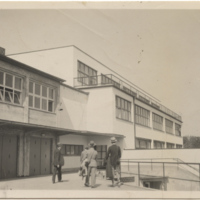 Professional Papers 1922-1963, Research Material: Postcards and Small Photos, Housing-related: Frankfurt