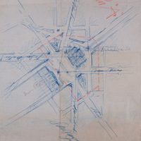 San Francisco Civic Center, Plan A sketch