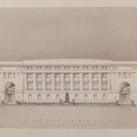 California State Building, San Francisco, South Elevation