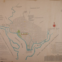L'Enfant's 1790 Plan for Washington, DC