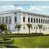 Public Library, Civic Center, San Francisco