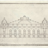 San Francisco Civic Auditorium Elevation