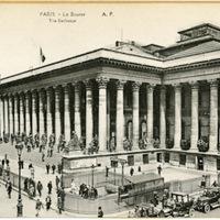 Paris - La Bourse; The Exchange