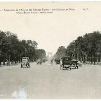 Paris - Perspective de l'Avenue des Champs-Elysees