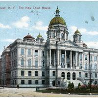 The New Court House, Syracuse, NY