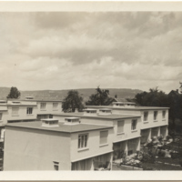 Professional Papers 1922-1963, Research Material: Postcards and Small Photos, Housing-related: Zurich