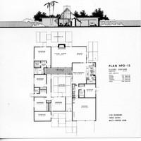 Eichler House Plan HPO-15