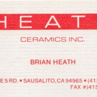 Brian Heath's business card