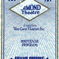 Dimond Theatre Souvenir Program