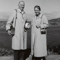 William W. Wurster and Catherine Bauer<br />