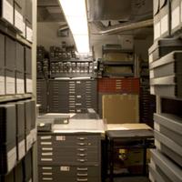 Environmental Design Archives Storage