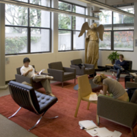 Environmental Design Library: reading lounge<br />