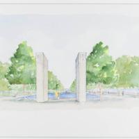 Design concept watercolor