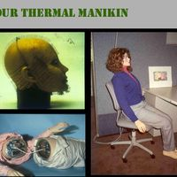 Center for the Built Environment: Thermal manikin