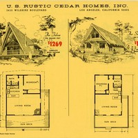 Design Collection, U.S. Rustic Cedar Homes