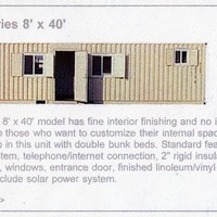 Ultimate Series, 8' x 40' Portable Buildings