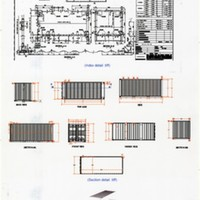 Architectural Drawings for Container Buildings