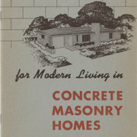 Twenty Designs for Modern Living in Concrete Masonry Homes
