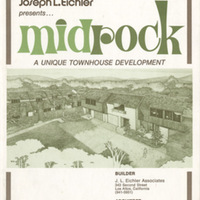 Joseph L. Eichler Presents: Midrock, a unique townhouse development. Midrock Price List and Plans