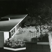 John Funk. Competition entry for Ladies Home Journal, model <br />