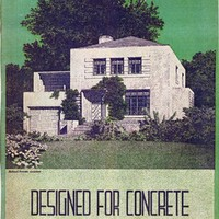 Designed for Concrete; 55 selected designs from the 1936 Pencil points-Portland Cement Association architectural competition for the design of firesafe concrete homes…