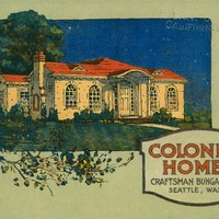 Colonial Homes, a collection of the latest designs featuring the new colonial bungalow