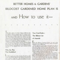 The Book of Bildcost Gardened Home Plans from Better Homes and Gardens