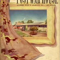 Souvenir pictorial booklet of the Post-war House, Wilshire Blvd. at Highland Ave., Los Angeles