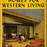 Sunset Homes for Western Living, from five years of Sunset