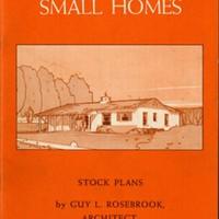Distinctive Small Homes, book five<br /> <br />